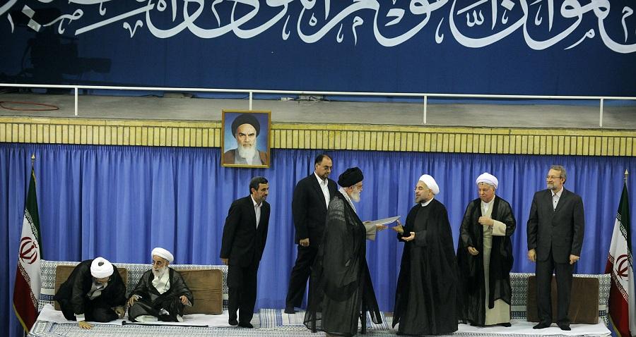 مراسم تنفيذ حكم رياست جمهوری هفتمین رئيس جمهوری اسلامی ايران