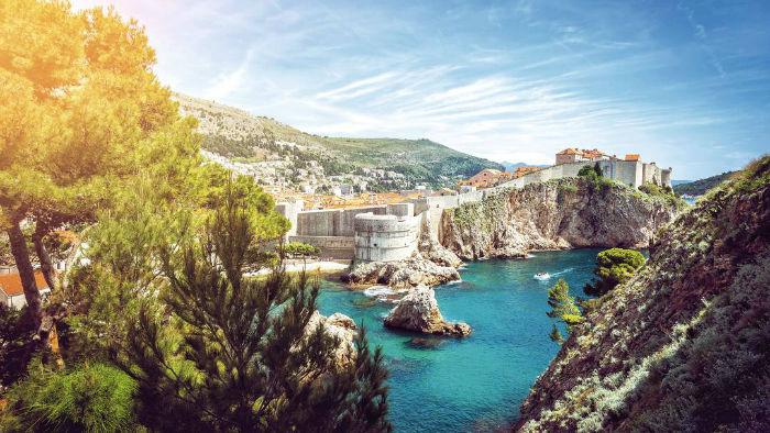 شهر دوبروونیک کرواسی