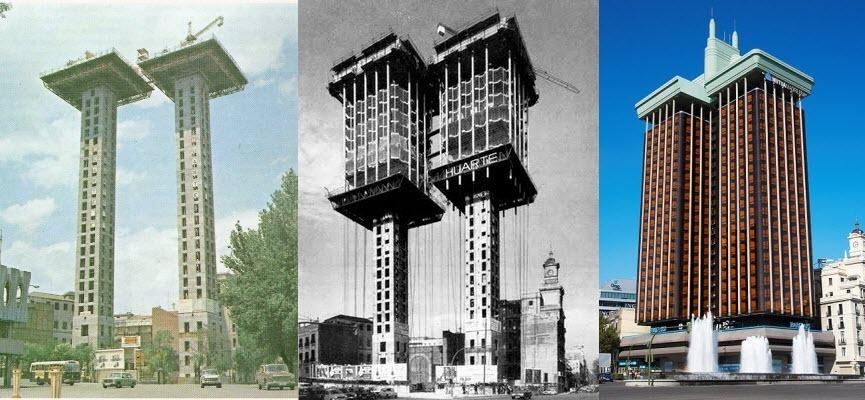 با ساختمانی آشنا شوید که از بالا به پایین ساخته شده است