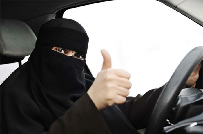 خوشحالی زنان عربستان بخاطر برداشته شدن قانون منع زنان از رانندگی
