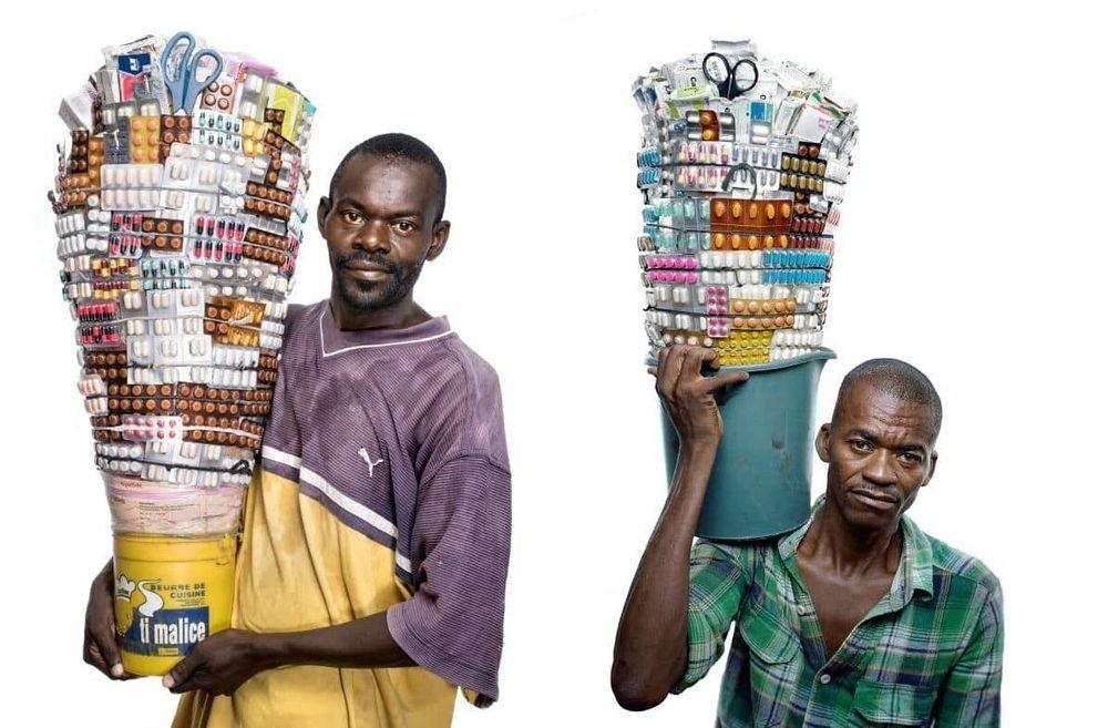 فروشنده های دارو در هایتی