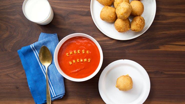 دامپلینگ پنیر کبابی