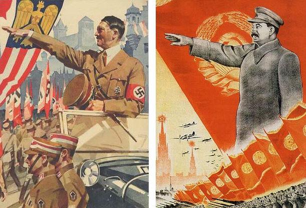 تمام کمونیسم علیه تمام نازیسم