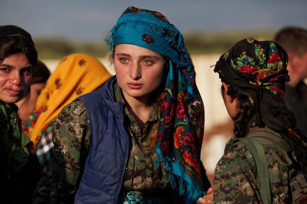 زنان کُرد شرکت کننده در نبرد علیه داعش در عملیات رقه چه می گویند؟!