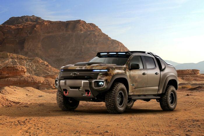 جنرال موتورز از جدیدترین خودرو نظامی خودران با سوخت هیدروژنی رونمایی کرد - روزیاتو