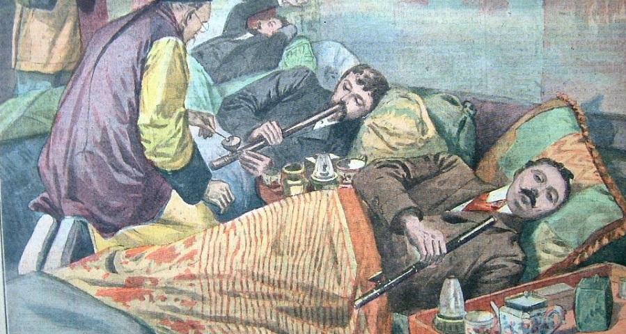نگاهی به شیرهکشخانهها و معتادان تریاک در طول تاریخ