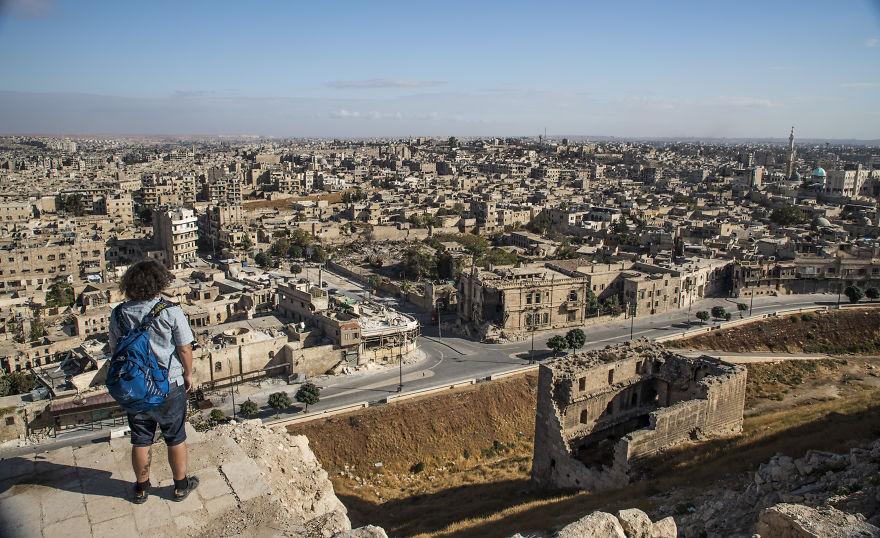 14 1 - زندگی عادی مردم سوریه در دل جنگ های داخلی + عکس