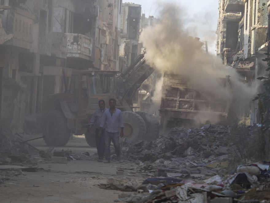 23 - زندگی عادی مردم سوریه در دل جنگ های داخلی + عکس