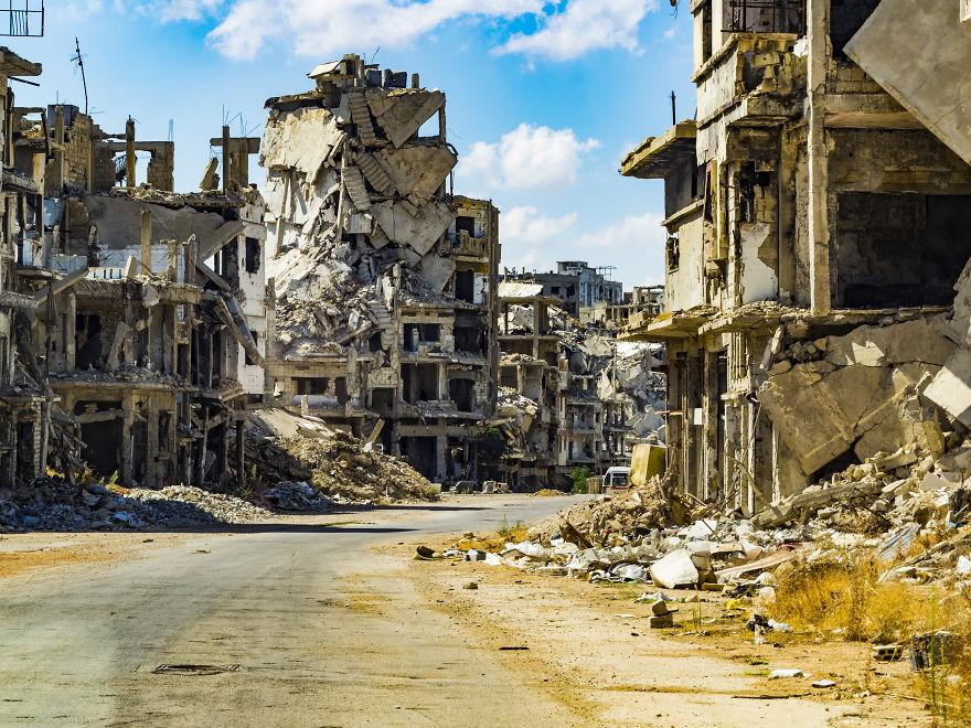 25 - زندگی عادی مردم سوریه در دل جنگ های داخلی + عکس