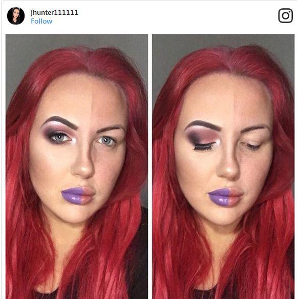 5 23 - چالش جدید آرایش زنان در اینستاگرام کلید خورد