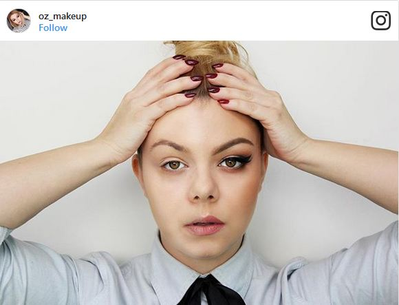6 21 - چالش جدید آرایش زنان در اینستاگرام کلید خورد