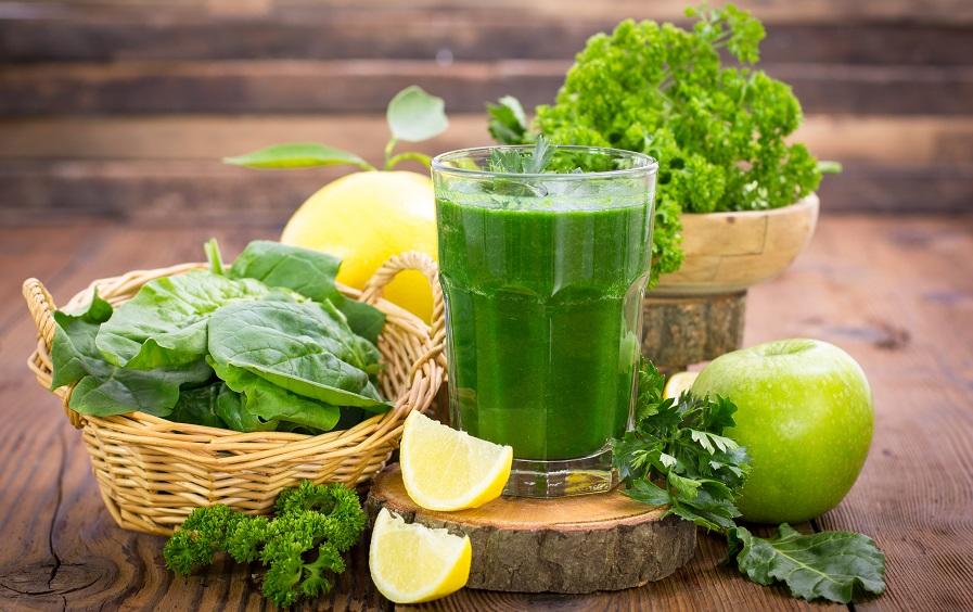 دفع سموم بدن با میوه و سبزیجات
