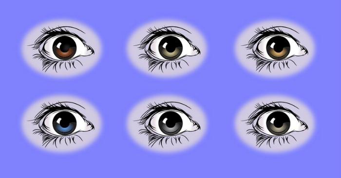 چیزهای که رنگ و شکل چشم ها در مورد سلامتی شما خواهد گفت