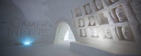 هتل یخی «بازی تاج و تخت» در فنلاند گشایش یافت