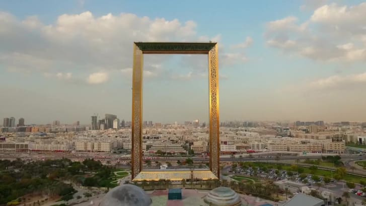 «قاب دبی»؛ ابر سازه جنجالی امارات افتتاح شد - روزیاتو