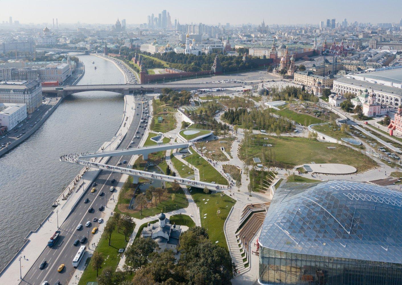 یکی از گرانقیمتترین پارکهای جهان در مسکو