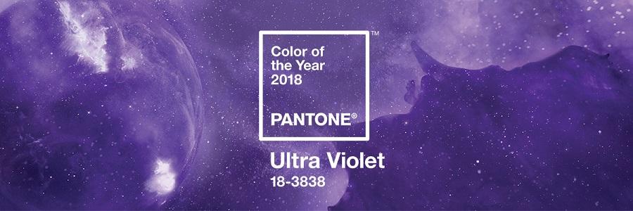بنفش رنگ سال 2018