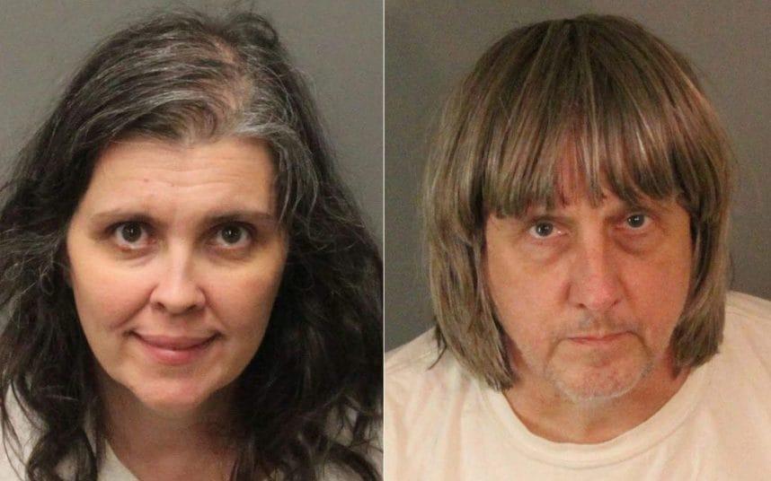 بازداشت پدر و مادر آمریکایی که 13 فرزند خود را در خانه زندانی کرده بودند