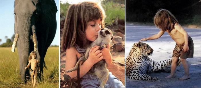 با چندین کودک وحشی آشنا شوید که توسط حیوانات بزرگ شدند