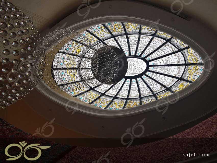 جلوه گری نور با استفاده از گنبد شیشه ای [رپورتاژآگهی]