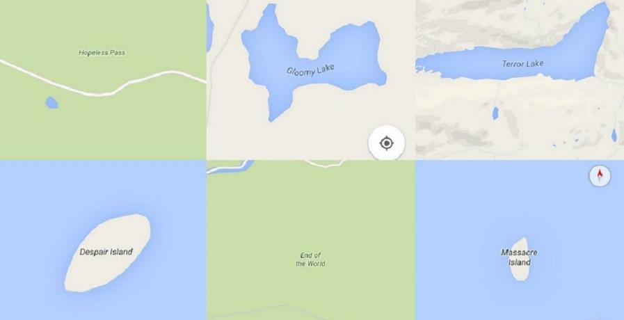 افسردهکنندهترین نام مکان ها