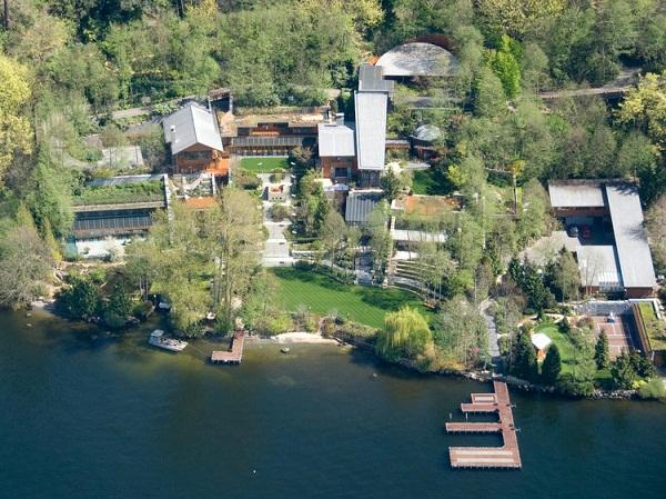 حقایقی باور نکردنی درباره ی خانه ۱۲۵ میلیون دلاری بیلگیتس
