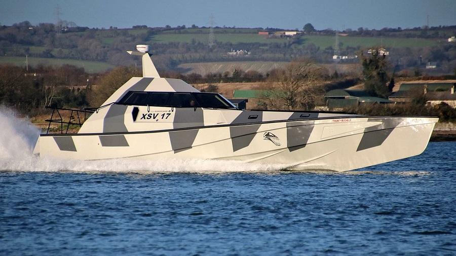 قایقThe Thunder Child ایرلندی
