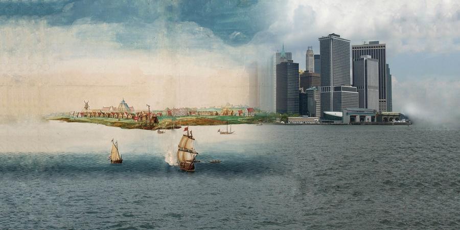 تصاویری دیدنی از نیویورک پیش از آنکه به شهری وسیع و مدرن تبدیل شود