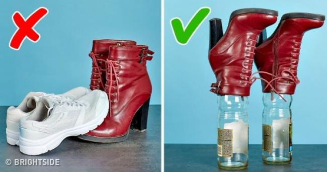 آموزش چند ترفند برای تمیز کردن کفش ها