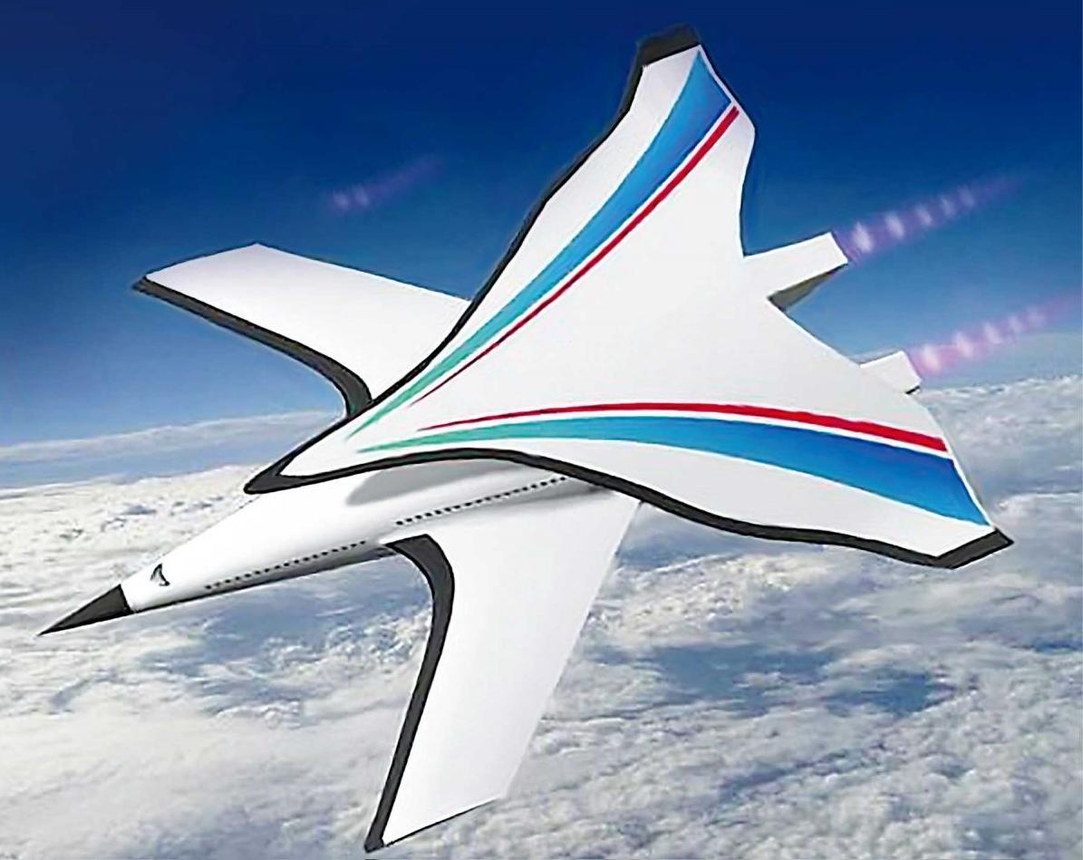 هواپیمای مافوق صوت چین که پکن تا نیویورک را در دو ساعت طی خواهد کرد