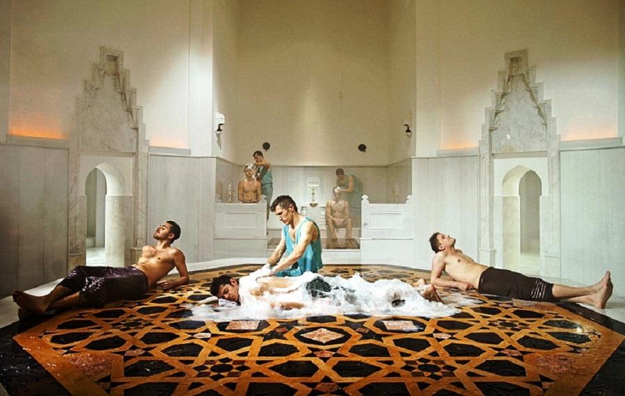 گشتی در «حمام خرم سلطان» ایاصوفیه استانبول