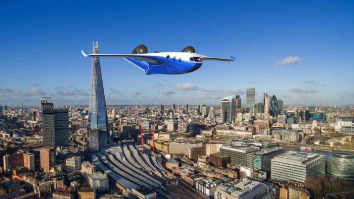 جت استارلینگ؛ هواپیمایی که مانند هلی کوپتر از روی زمین بلند می شود