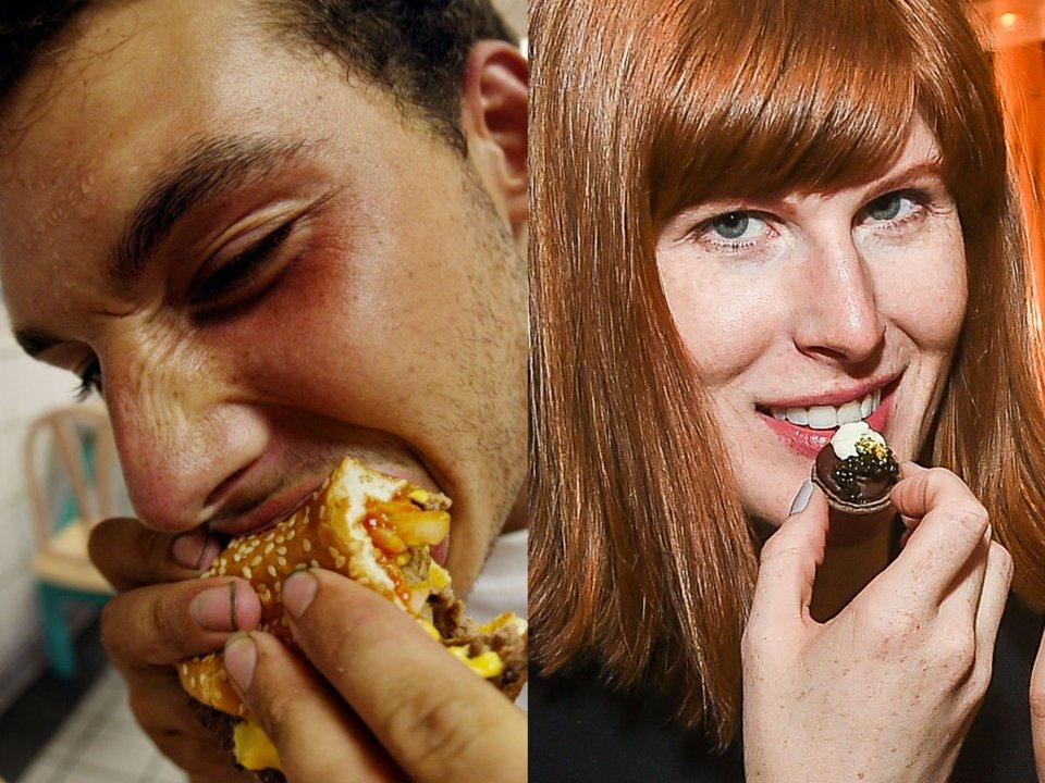 تفاوتهای رژیم غذایی آمریکاییها و فرانسویها