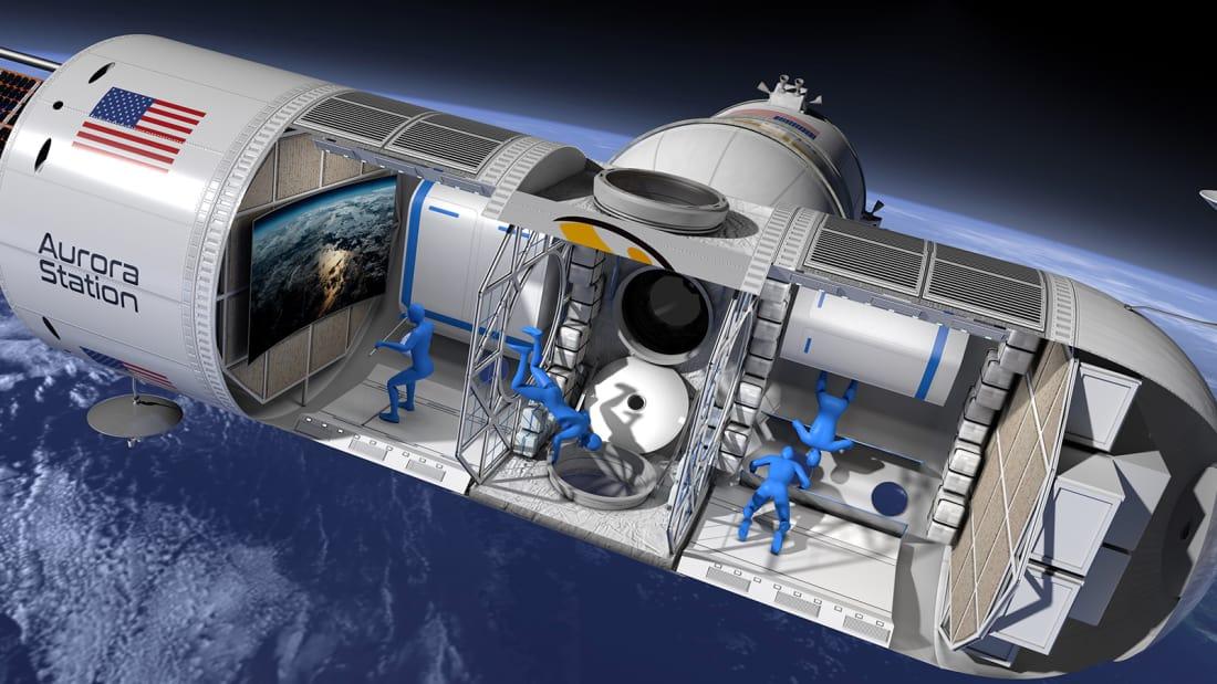 از امروز میتوانید برای اقامت در «نخستین هتل فضایی جهان» ثبتنام کنید