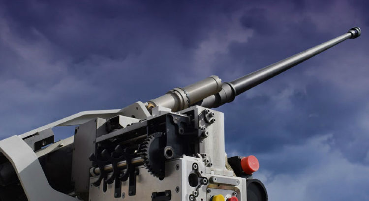 توپ ۴۰ میلیمتری قدرتمند و جدید آمریکایی که از هلی کوپتر تاتانک را نابود می سازد