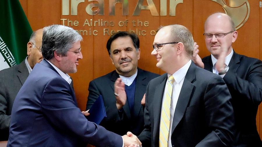فرجام نامعلوم قراردادهای ایران ایر با بوئینگ