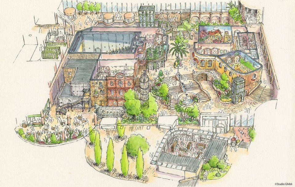 گشایش پارک موضوعی استودیو جیبلی در سال 2022 در ژاپن