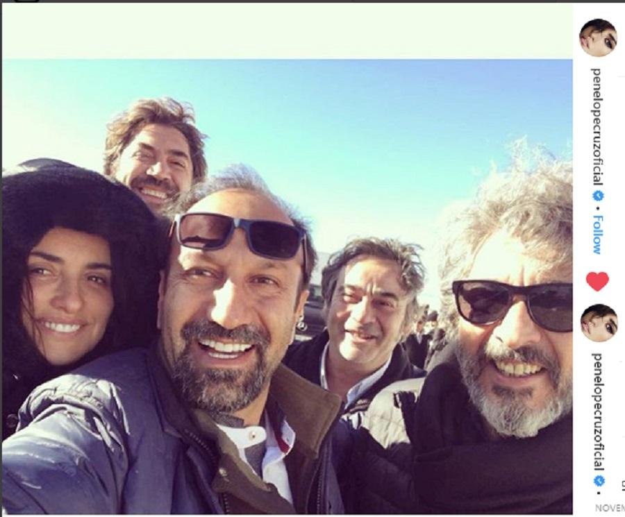 تیزر، پشت صحنه، و خواننده ترانه «همه می دانند»: فیلم جدید اصغر فرهادی با پنه لوپه کروز