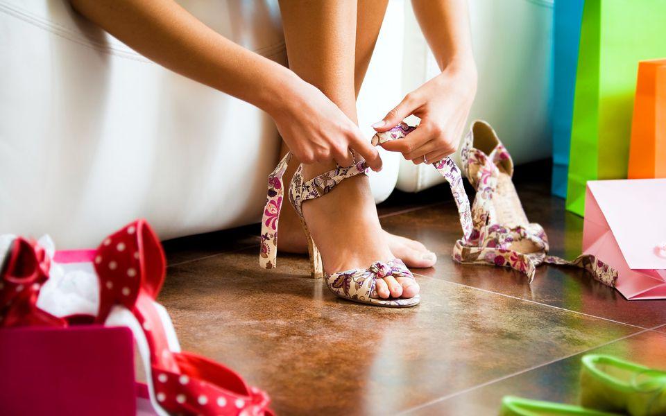 تمیز کردن انواع مختلف کفش