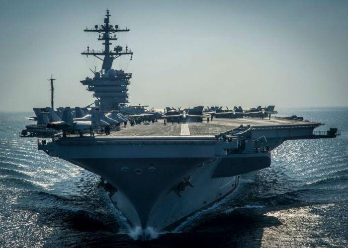 هزینه ساخت بزرگترین ناو هواپیمابر ایالات متحده به رقم سرسام آور ۱۳ میلیارد دلار رسید