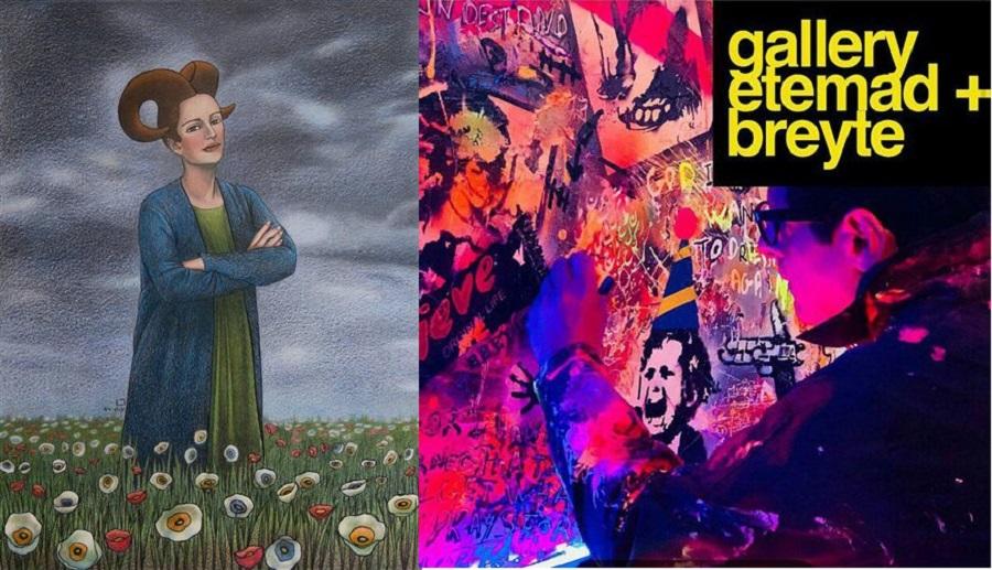 فرصت های گالری گردی اردیبهشتی در ۴۰ نگارخانه تهران
