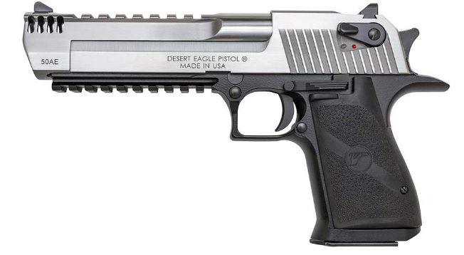 Desert Eagle Pistol DE50SRMMB w700 روزیاتو: با ۱۰ مورد از قوی ترین و مرگبارترین سلاح های انفرادی سال ۲۰۱۸ آشنا شوید اخبار IT