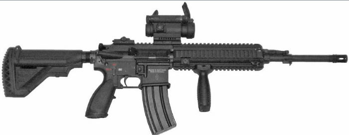 Heckler and Koch HK416 A5 Assault Rifle w700 روزیاتو: با ۱۰ مورد از قوی ترین و مرگبارترین سلاح های انفرادی سال ۲۰۱۸ آشنا شوید اخبار IT