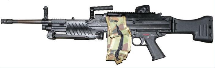 Heckler and Koch MG4 w700 روزیاتو: با ۱۰ مورد از قوی ترین و مرگبارترین سلاح های انفرادی سال ۲۰۱۸ آشنا شوید اخبار IT