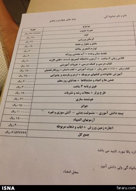 مدارس لاکچری تهران