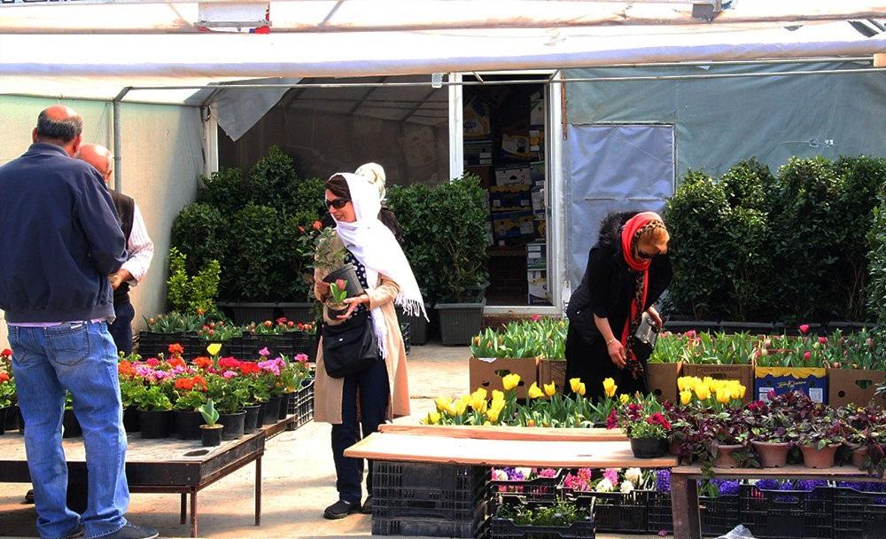 بازار گل محلاتی تهران