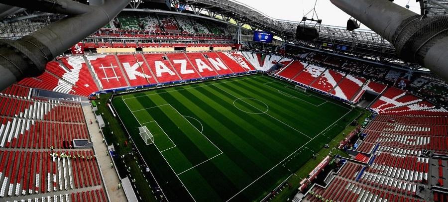 ورزشگاه کازان آرنا میزبان بازی ایران و اسپانیا
