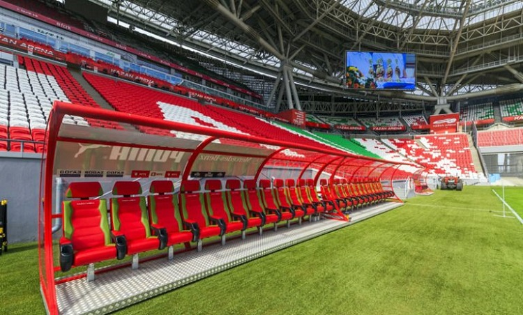 kazan arena stadium 10 768x512 روزیاتو: با ورزشگاه کازان آرنا، میعادگاه دو تیم ایران و اسپانیا آشنا شوید اخبار IT