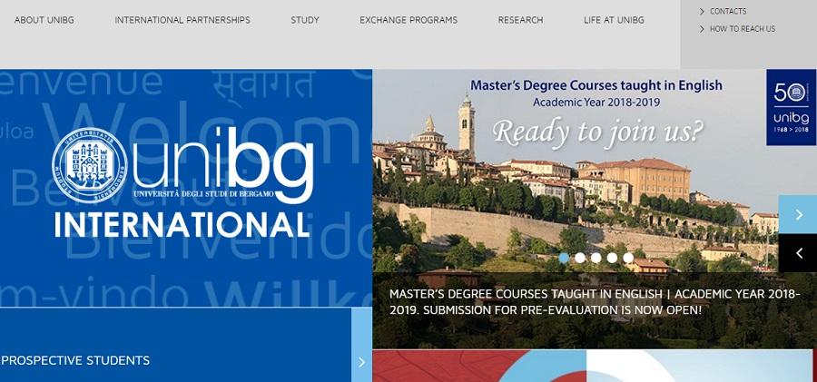دانشگاه های ایتالیا دانشگاه برگامو