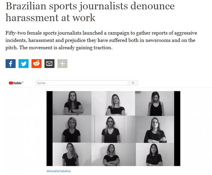 جام جهانی ۲۰۱۸ روسیه خبرنگاران زن